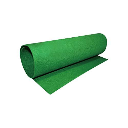 AZXAZ Alfombra para Reptiles, humectante, de Fibra Ambiental, Alfombrilla para terrario, Cama para Mascotas, Color Verde