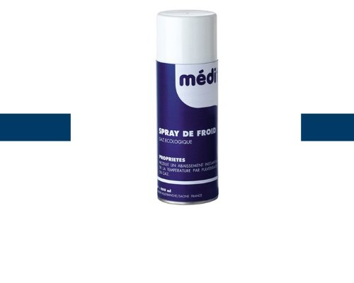 Bombe de froid 400ml en spray pour calmer la douleur -Visiodirect-
