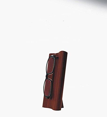 Hand geschnitzter Rosenholz Schlüsselanhängerform Brillenhalter Palisander Sonnenbrille Display Ständer Büro Schreibtisch Spektakel Organizer Perfektes Geschenk Idee