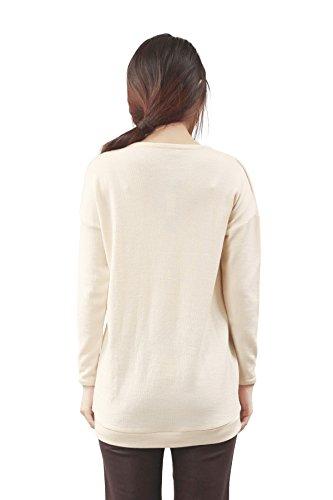 Larandi - Sweat-shirt - Femme X-Small Beige