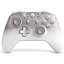 Microsoft - Mando Inalámbrico Phantom White - Edición Especial (Xbox One), blanco