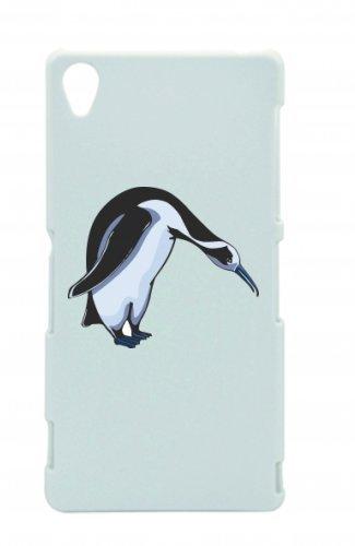 Smartphone Case pinguino freddo Attrazione grazioso animale Acqua per Apple Iphone 4/4S, 5/5S, 5C, 6/6S, 7& Samsung Galaxy S4, S5, S6, S6Edge, S7, S7Edge Huawei HTC-Divertimento
