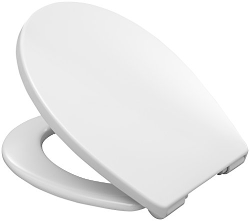 Hamberger 527656 WC-Sitz Pallas, mit SoftClose Fast-Fix weiß