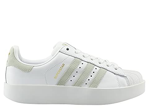 adidas Superstar Bold W White Green Gold