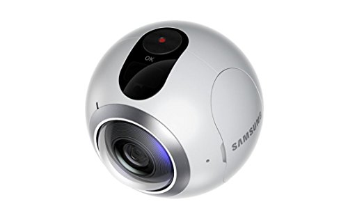 Samsung Gear 360-Immersive 360 degree Cam-High Resolution Video & Photo - Imported Variant- White