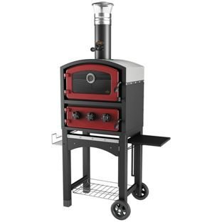 Fornetto GLPZ5EUR Red Wood Fired Oven.