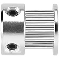 Uzinb 2GT 16 Zähne 5mm Bohrung Synchron-Rad-Idler Pulley Modell Werkzeuge Zubehör für 6 mm Breite Zahnriemen