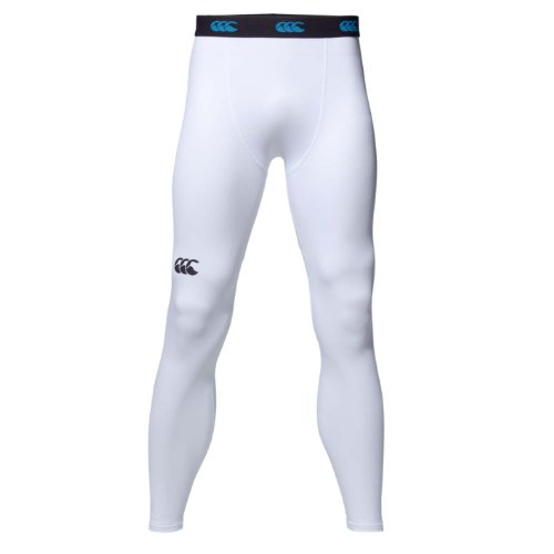 Canterbury of New Zealand Uni Legging Baselayer Cold (wärmend), White, XXXL, E511445 - Canterbury Damen Rugby