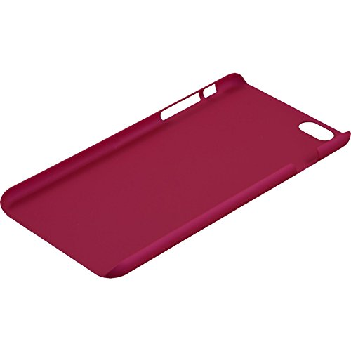 PhoneNatic Case für Apple iPhone 6 Plus / 6s Plus Hülle hellblau gummiert Hard-case für iPhone 6 Plus / 6s Plus + 2 Schutzfolien Pink