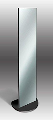 Espejo de pie elegante 40x 160cm Negro
