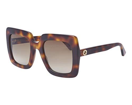 Gucci Sonnenbrillen GG0328S HAVANA/BROWN SHADED Damenbrillen