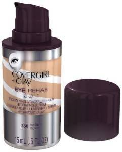 (Pack 2) Covergirl Plus Olay 350 Eye Rehab Concealer, Medium, 0.5 Fluid Ounce by COVERGIRL