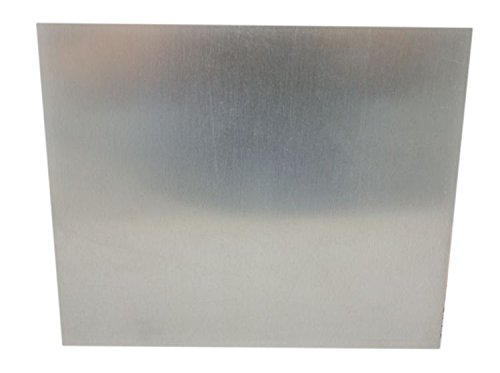 Zink-Anode/Elektrode/Blech (20 x 17 cm) für Zinkelektrolyt/Galvanik