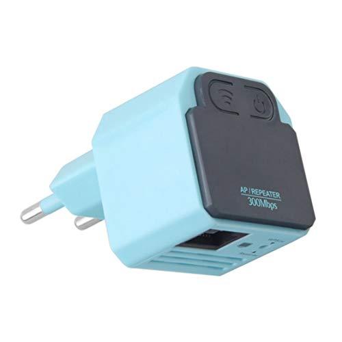 Preisvergleich Produktbild LouiseEvel215 300 Mt Drahtlose WiFi Repeater Mini High Speed 802.11N Signalverstärker Range Extender Booster Eingebaute Antenne