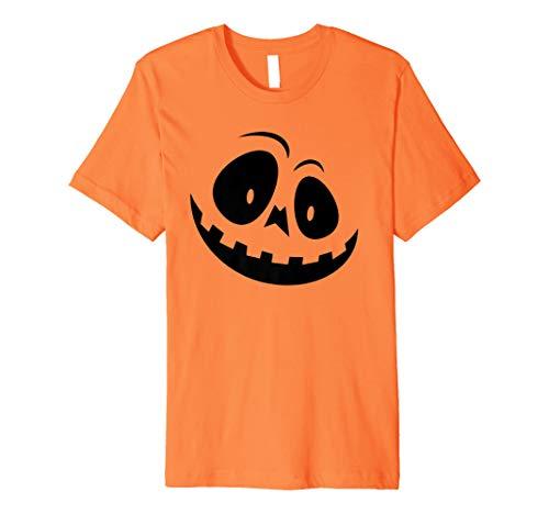 (Scary Halloween Kürbis Gesicht Shirt Cute Trick or Treat Ghost)