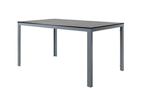 Chicreat - Mesa de comedor de aluminio y madera sintética para ...