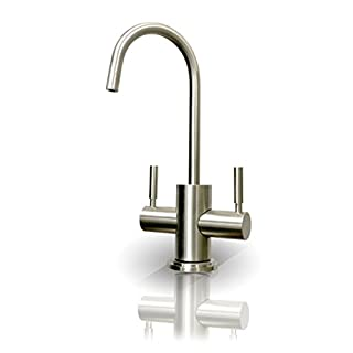 APEC Water Systems HC-WST-NP Instant Hot and Cold Reverse Osmosis Drinking Water Dispenser Faucet, Brushed Nickel