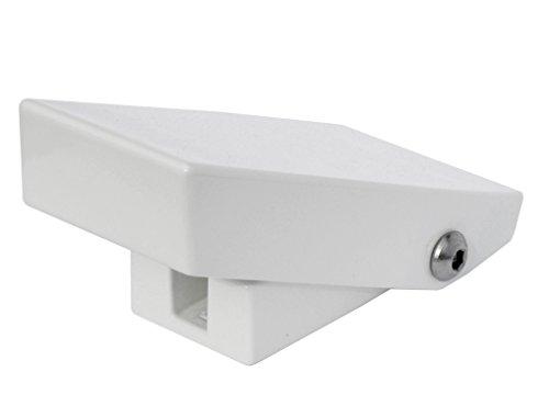 Fenster-Schnapper XL - Genial einfache Zusatzsicherung gegen Aufhebeln von Fenstern - Druckwiderstand größer 2 Tonnen (20.000 Newton))
