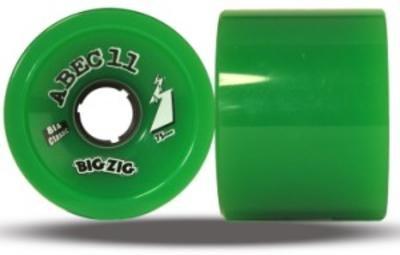 ABEC 11 Longboard Wheels Classic BigZigs 81A 75mm -