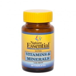VITAMINAS & MINERALES 600 MG. 60 TABLETAS