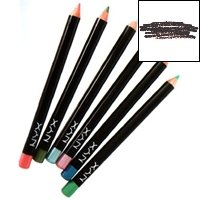 NYX Slim Eye Pencil, Black Brown, 1.10g