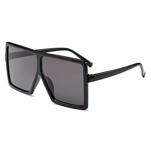 MINGMOU Billige Übergroße Sonnenbrille Frauen Quadrat Flat Top Weiß Schwarz Große Damen Sonnenbrille Weiblich Uv400
