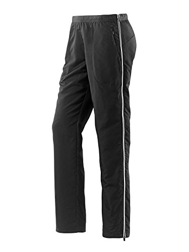 Joy - Damen Sport und Freizeit Hose mit seitlichem Reißverschuss, Merrit (942), Größe:22;Farbe:Black/White (00761)