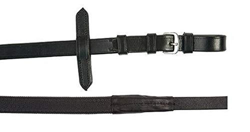 HKM 4000315692149 Zügel mit Gummibezug -Soft-9100 schwarzVollblut