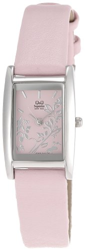 Q & Q Analog Pink Dial Women's Watch - S059-342Y image