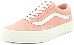 vans old skool rosa wildleder