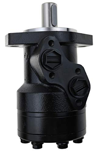 Hydraulischer Motor OMR Serie 160CC, M8 Schaftgewinde, 2-Bolzenmontageflange, G1/2 NPT Ports, TG02004