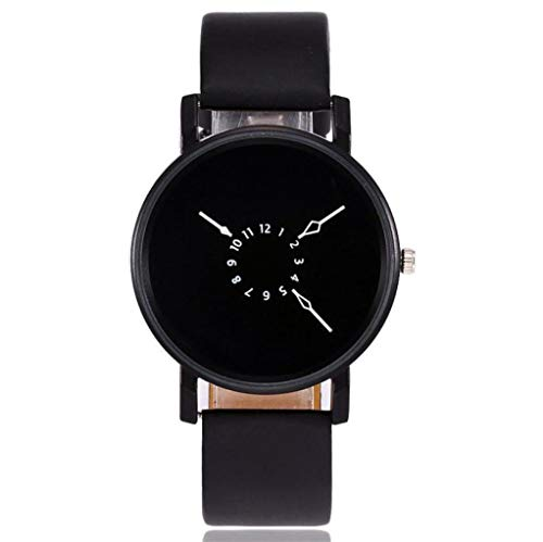 Uhren beiläufige Quarz-Leder-Band-Bügel-Uhr-analoge Armbanduhr Kinlin Damen Uhren