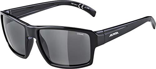 ALPINA Erwachsene Melow Sonnenbrille, Black, One Size