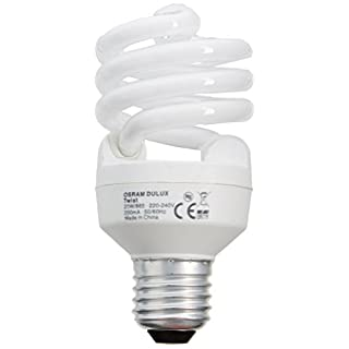 Osram Duluxstar Mini Twist CFL Energy Saving Light Bulb - 6500 K Cool Daylight ES/E27 20 W