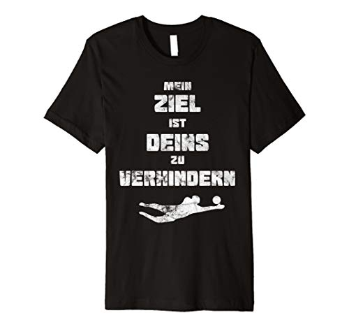 Torwart T-Shirt Keeper Fußball Handball Spieler Torhüter