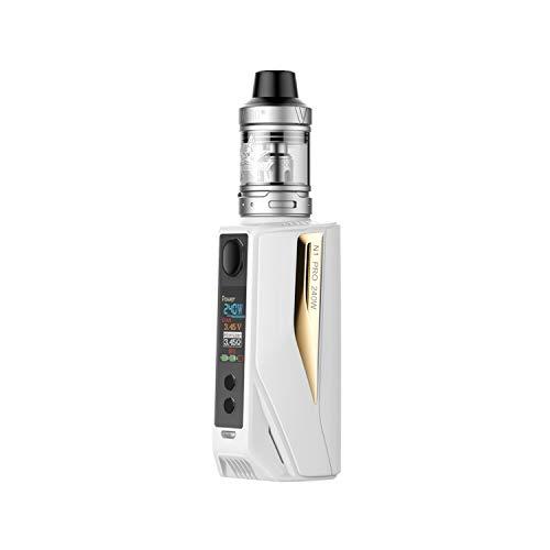 Vaptio N1 Pro 240W MOD Cigarettes électroniques E-Cigarette sans nicotine (kit blanc et or)