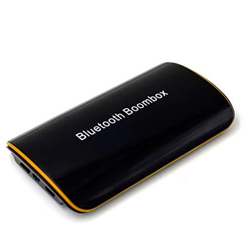 JIBO Bluetooth Empfänger 3,5 Mm Wireless Car Bluetooth Sender Audio Musik Adapter Bluetooth 4,1 + EDR Empfänger Aux Rezeptor,Black 665 Wireless Bluetooth