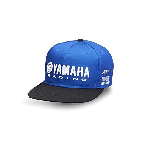 c704ab816c575 Yamaha Yamalube Paddock Blue Schirmmütze Kinder Cap Kappe