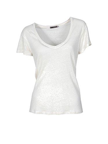 GRETA & LUIS Damen Premium-Leinenshirt Ciara Creme crudo