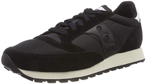 Saucony Jazz Original Vintage, Zapatillas de Cross Unisex Adulto, Negro Black 9, 46.5 EU