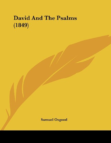 David and the Psalms (1849)