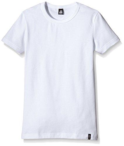 Trigema Mädchen T-Shirt 202201, Gr. 140, Weiß (weiss 001)