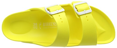 Birkenstock - Arizona Eva, Ciabatte Donna Giallo (Gelb (Neon Yellow))