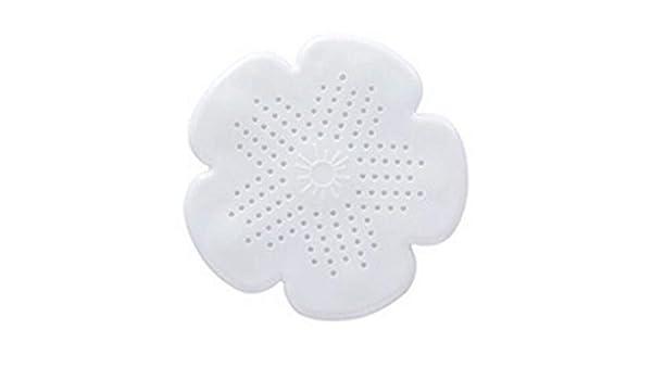 DDOQ Durable Sakura Shape Floor Drain Couvercle /Évier Cr/épine Cheveux Filtre /Évier avec Ventouse