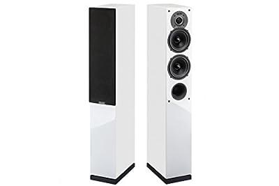 Indiana Line TESI 542 LB Coppia Diffusori 3 vie, da Pavimento, Colore: Bianco ai migliori prezzi - Polaris Audio Hi Fi