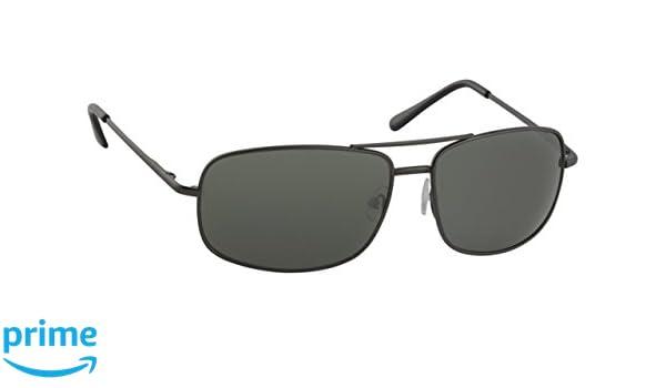 A-Urban Herren Sonnenbrille AA292F2 Herren Brillen Fassung grau, Linse grün