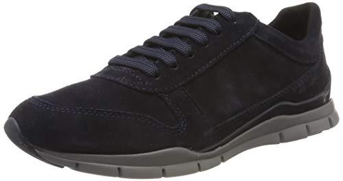 Geox Damen D Sukie C Sneaker, Blau (Navy C4002), 39 EU