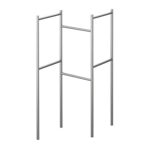 IKEA GRUNDTAL Handtuchständer aus Edelstahl