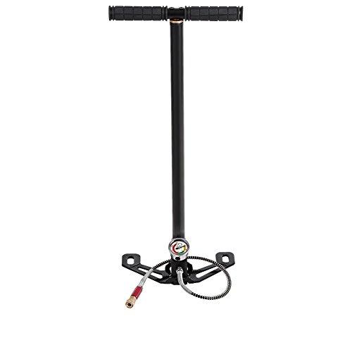 Hochdruck 4500psi 3 Stufe Handpumpe Klappbar Fahrrad Luftpumpe Standpumpe aus Wolfram Stahl für Boot Autoreifen Ball