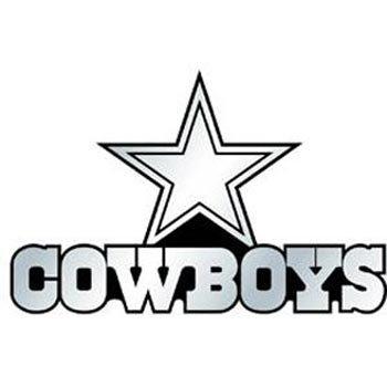 NFL Dallas Cowboys Chrome Automobile Emblem